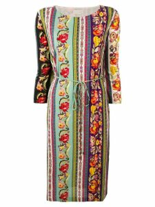 Etro floral print tunic dress - Black