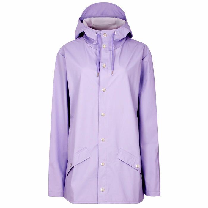 Rains Lilac Rubberised Raincoat