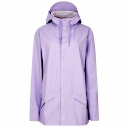 Rains Lilac Rubberised Raincoat