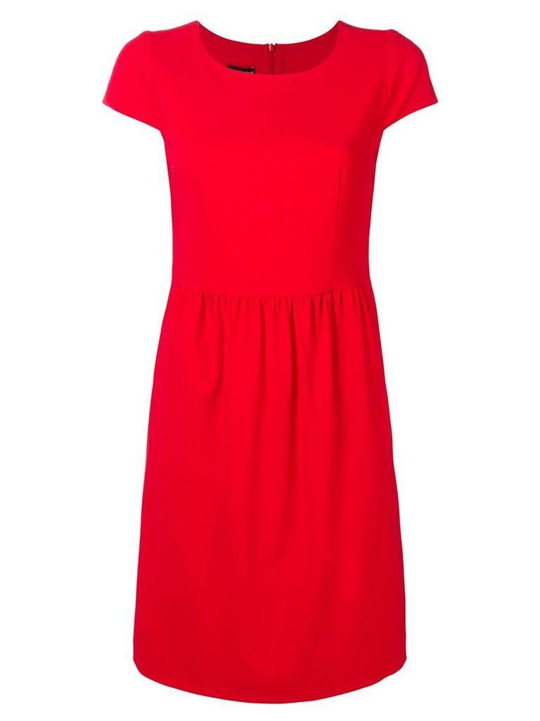 Emporio Armani casual shift dress - Red