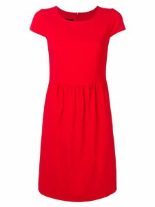 Emporio Armani casual shift dress - Red