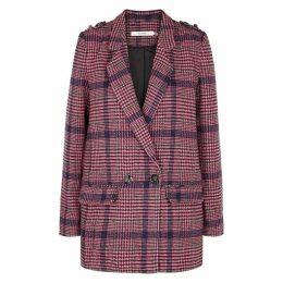 Gestuz Ginea Checked Tweed Blazer