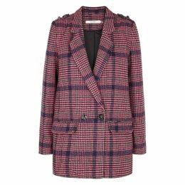 Gestuz Ginea Checked Tweed Blazer