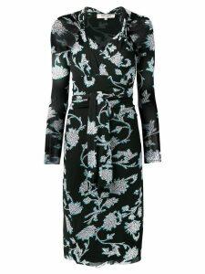 Dvf Diane Von Furstenberg floral print dress - Black