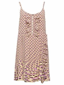 Prada Crepe de chine dress - Pink