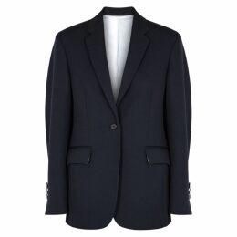 Calvin Klein 205W39NYC Navy Wool Blazer