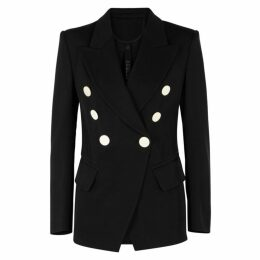 Petar Petrov Jewel Double-breasted Wool Blazer
