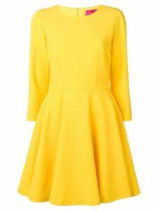 Blumarine flared midi dress - Yellow