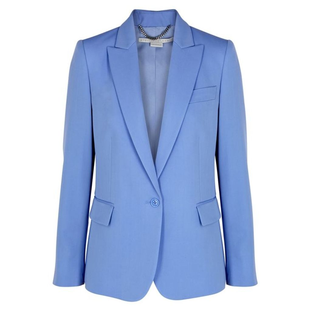 Stella McCartney Blue Wool Blazer