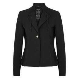 HIGH Giacca Black Stretch-jersey Blazer