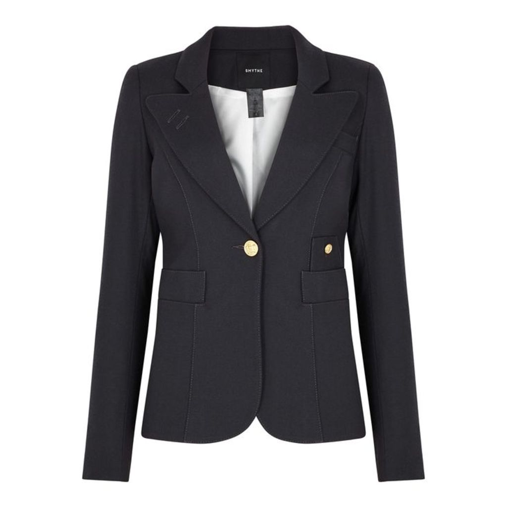 Smythe Duchess Black Wool Blazer