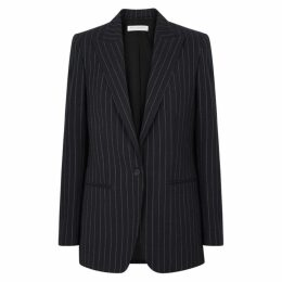 Philosophy Di Lorenzo Serafini Pinstriped Cotton And Wool-blend Blazer