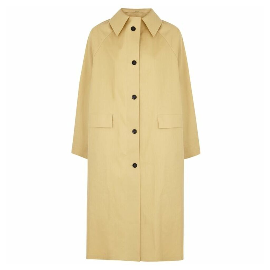 KASSL Sand Cotton-blend Trench Coat