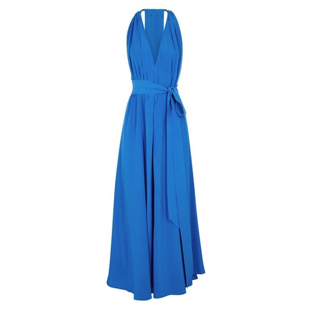 KALITA Camille Reversible Silk Maxi Dress