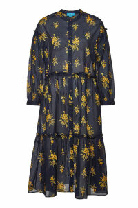 M.i.h Jeans Lyra Printed Cotton Dress