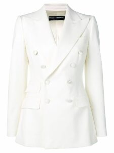 Dolce & Gabbana double breasted blazer - White