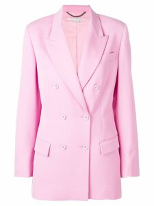 Stella McCartney tailored double-breasted blazer - PINK
