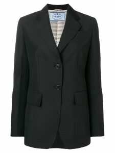 Prada fitted blazer jacket - Black