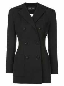 Proenza Schouler Double Breasted Blazer - Black