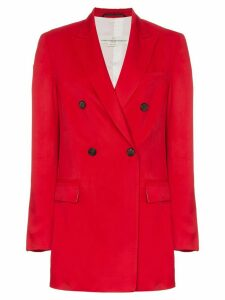 Golden Goose valerie double-breasted blazer - Red