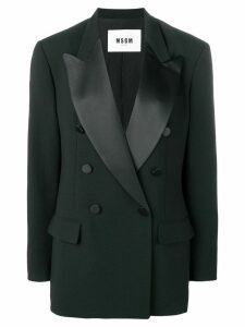 MSGM tailored fit blazer - Black