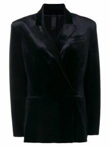 Norma Kamali double breasted blazer - Black