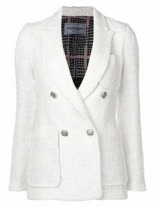 Forte Dei Marmi Couture double-breasted blazer - White