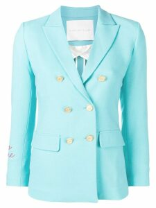 Giada Benincasa double breasted blazer - Blue
