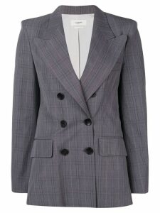 Isabel Marant Étoile classic double-breasted blazer - Grey