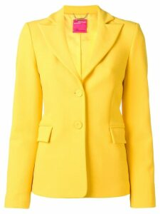 Blumarine fitted single-breasted blazer - Yellow