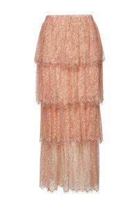 Steffen Schraut Maxi Skirt with Lace