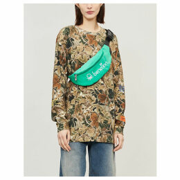Heron Preston x Carhartt camouflage-print cotton-jersey top