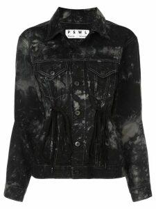Proenza Schouler PSWL Silverlake Denim Drawstring Jacket