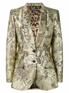 Dolce & Gabbana fitted jacket - Gold