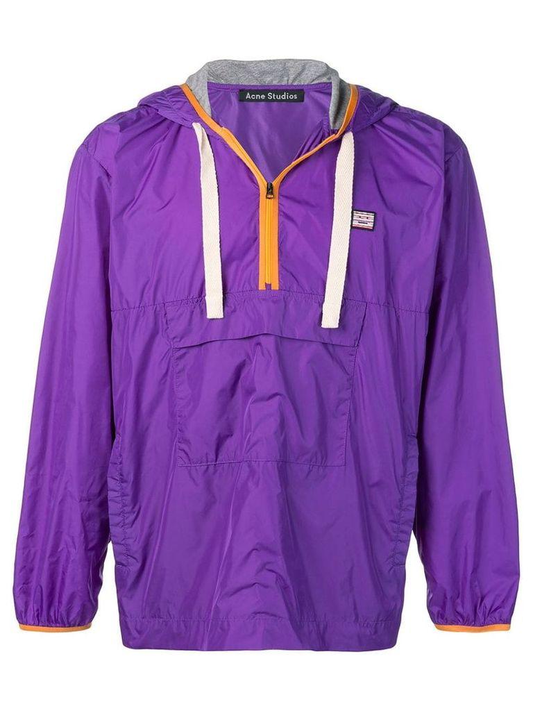 Acne Studios Anorak jacket - Purple