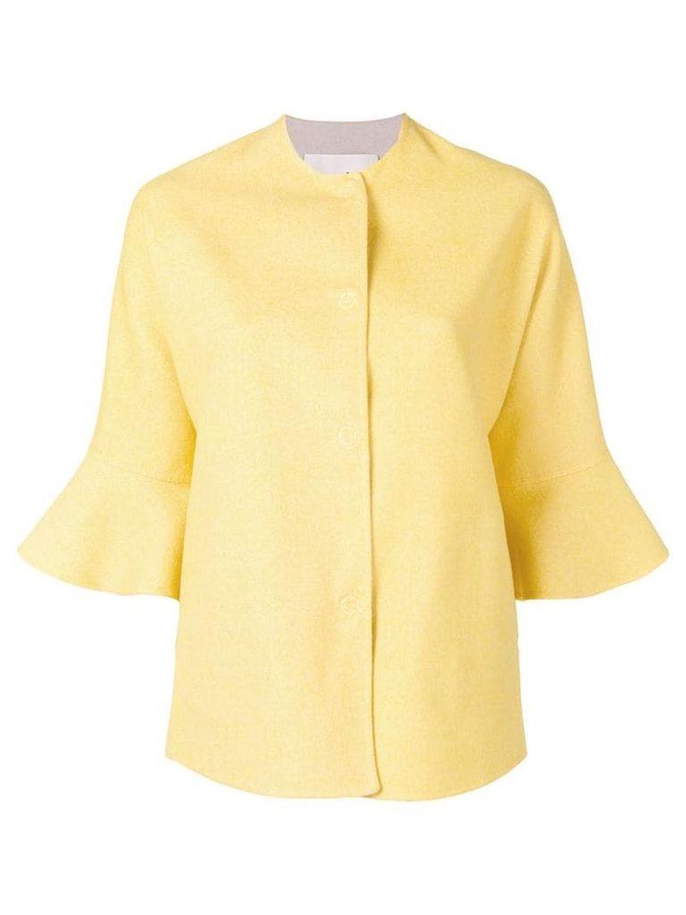 Manzoni 24 ruffled cuff jacket - Yellow