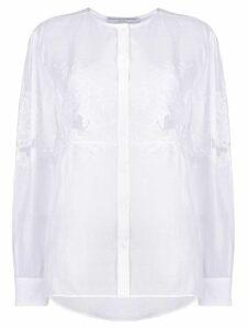 Ermanno Scervino embroidered lace blouse - White