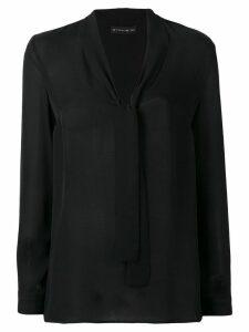 Etro bow tie detail blouse - Black