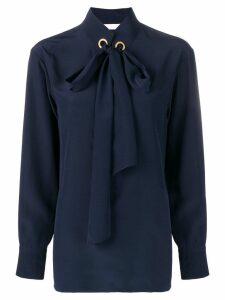 Chloé pussy bow blouse - Blue