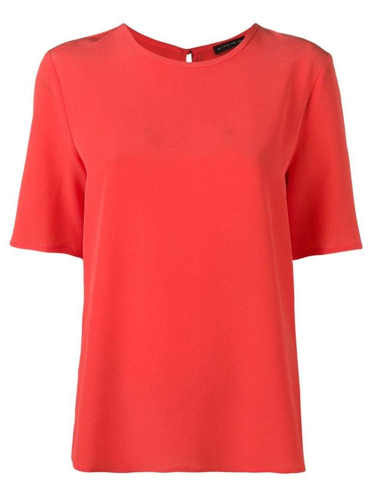 Etro short-sleeved blouse - Red