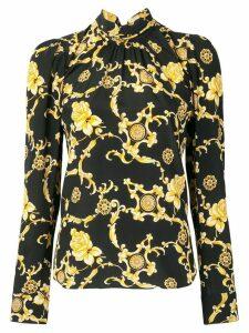 Veronica Beard floral print blouse - Black