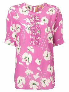 Nº21 floral blouse - Pink