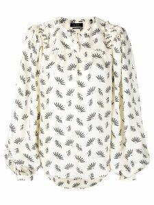 Isabel Marant wheat print blouse - Neutrals