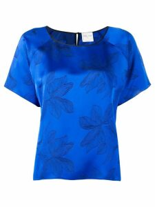 Forte Forte floral jacquard blouse - Blue
