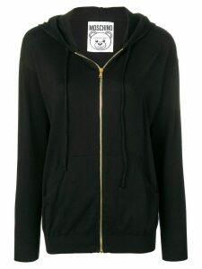 Moschino logo bear hoodie - Black