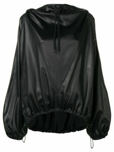 Givenchy flared hoodie - Black