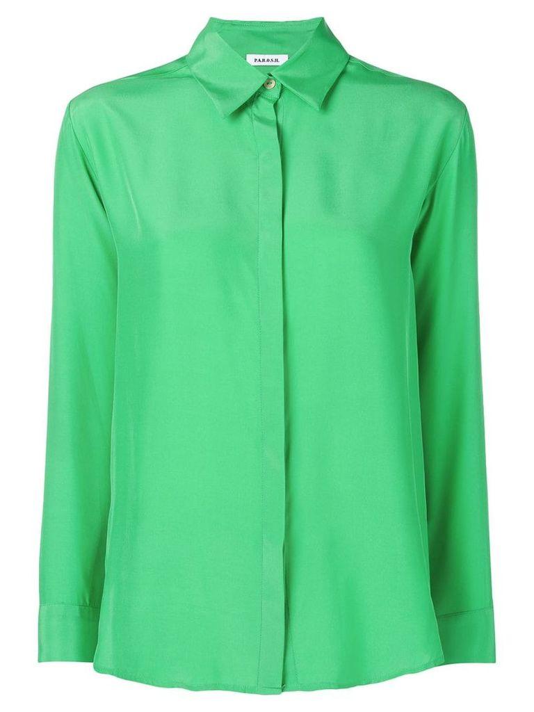 P.A.R.O.S.H. long sleeved shirt - Green