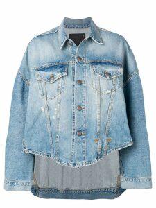 R13 oversized denim shirt - Blue