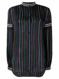 Rag & Bone striped button shirt - Blue