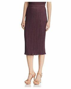 Max Mara Emmy Pleated Midi Skirt